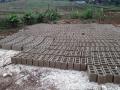 Entassement de briques